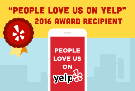 GlassLogic Windshield Repair 2016 People Love us on Yelp Award Winner